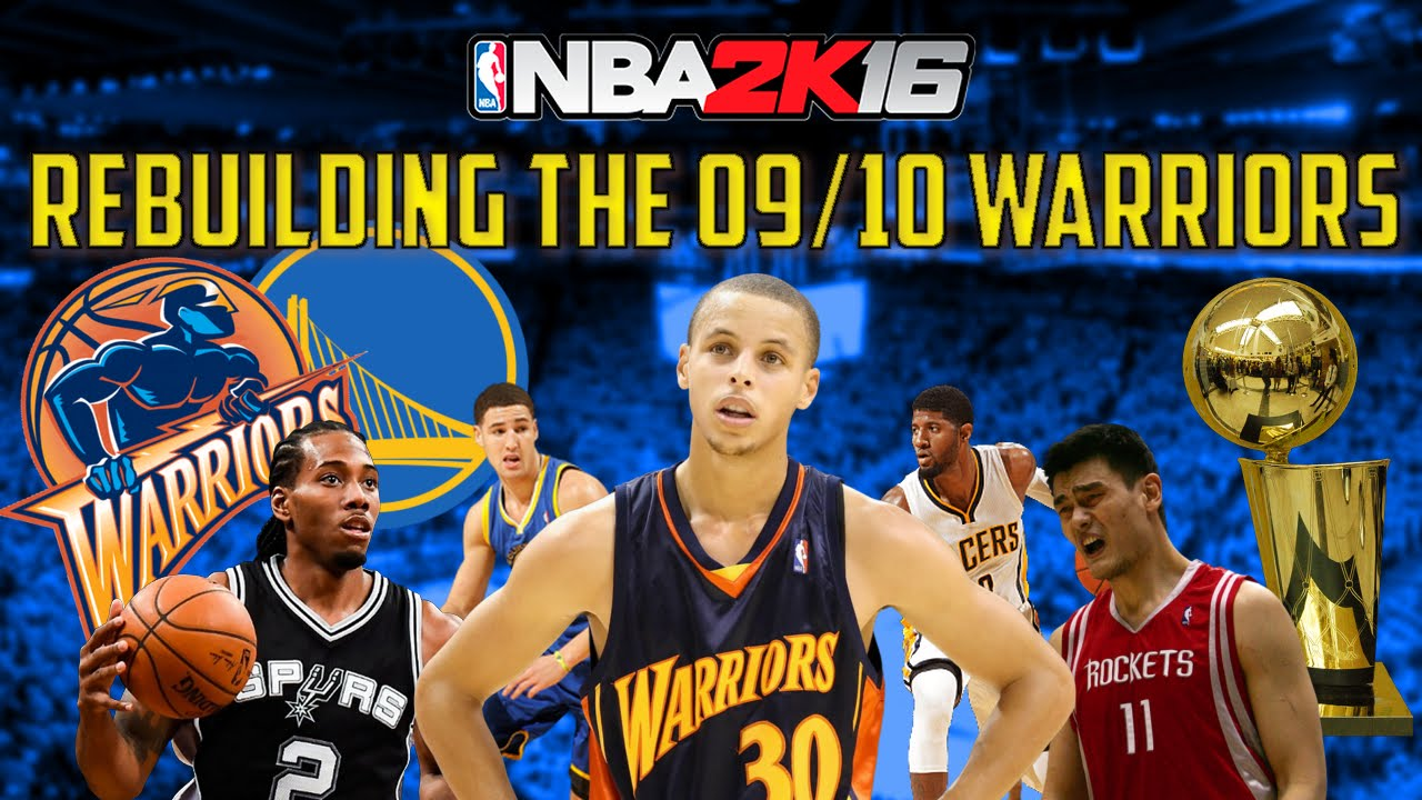 Rebuilding the 2009/2010 Golden State Warriors!! - BETTER THAN REAL LIFE!! - NBA 2K16 My League