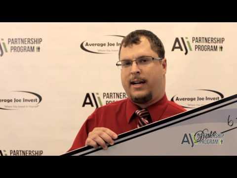 Average Joe Invest Testimonial - Joseph Reina