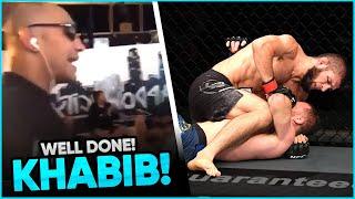 Footage of Tony Ferguson reacting to Khabib's win over Justin Gaethje, Nate Diaz Rips Justin, Paulo