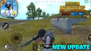 PUBG MOBILE LITE - New Android Update Gameplay (Graphics,RPG-7)