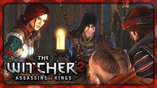 Witcher 2 - Geralt, Triss, Zoltan and Dandelion Having a Drink #5