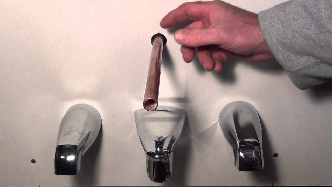 How To Remove And Replace A Tub Spout Different Types