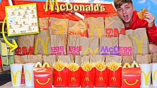 I Went Through EVERY McDonald's Drive Thru In My City...