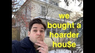 We bought a hoarder house! 100 years of stuff! what will we find???