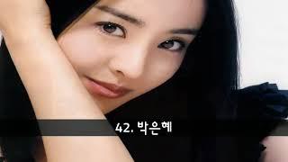 가장 아름다운 한국 여배우