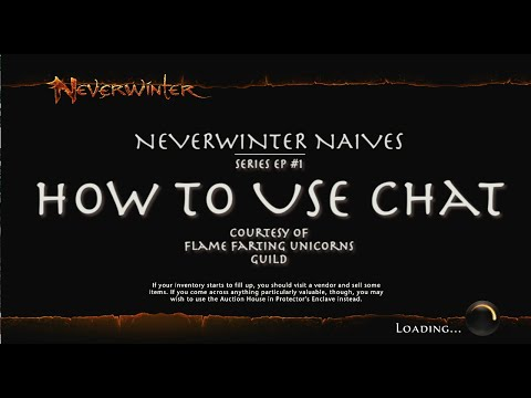 how to use chat NeverWinter. PS4