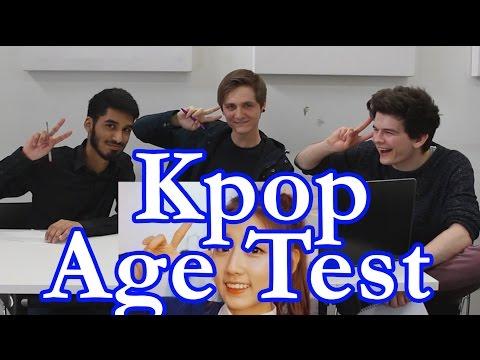 Kpop Age Test | KpopSteve