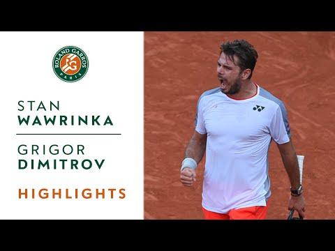 Stan Wawrinka vs Grigor Dimitrov - Round 3 Highlights | Roland-Garros 2019