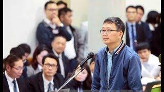 Toàn cảnh phiên ... Ông Đinh La Thăng cùng đồng phạm sáng 8/1