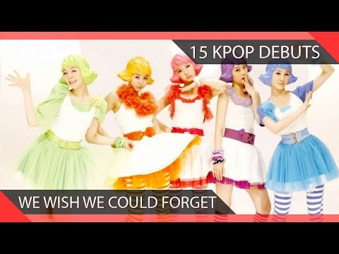 15 KPOP Debuts We Wish We Could Forget