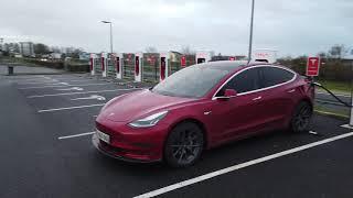 Paris-Nîmes en Tesla model 3 en hiver quelle autonomie par rapport à cet été ? par Éléctron libre