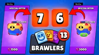 I OPENED A SPECIAL OFFERS !!! AND GOT 13 NEW BRAWLERS