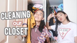 Decluttering/Cleaning our Closet (Philippines) | Princess And Nicole