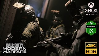 Call of Duty: Modern Warfare [Xbox Series X 4K HDR 60FPS] Clean House Realism Gameplay