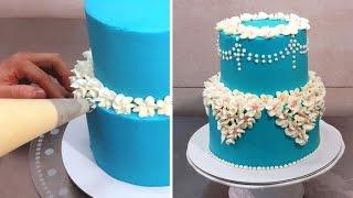 Easy Buttercream Cake Decorating Idea by Cakes StepbyStep