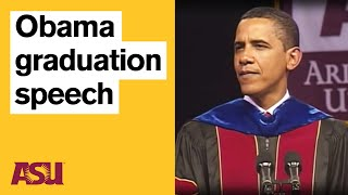 Obama at ASU: Commencement Speech with intro by Michael Crow | Arizona State University
