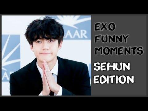 EXO FUNNY MOMENTS: SEHUN EDITION