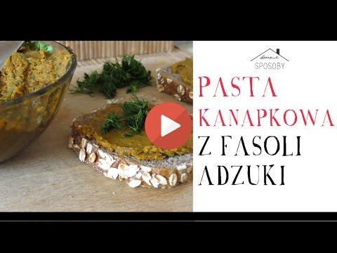 Jak przygotować pastę kanapkową z fasoli adzuki