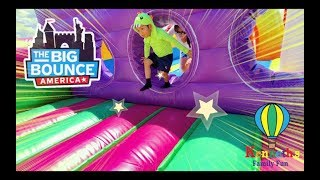 The Big Bounce America!  Family Fun Experience Highlights