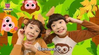 Monkey Banana Kids Dance Songs | Sing and Dance! Songs For Children
