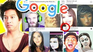 Google Arts Selfie App With Youtubers!! Pewdiepie, Natalies Outlet, Karina Garcia, Guava Juice