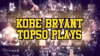 Kobe Bryant Top 50 All Time Plays