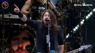 Dave Grohl - Foo Fighters   Tributo a  Malcolm Young  - AC DC