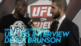 UFC 155: Derek Brunson Tells MW Division to 'Watch Out'