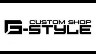Apresentação da loja Custom Shop G Style