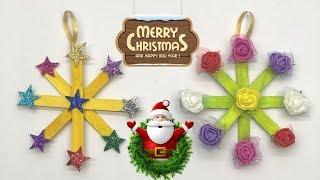 Christmas tree decoration idea   merry Christmas 2018   celebrate Christmas with Quick Art