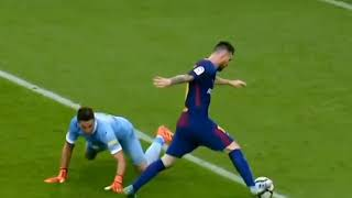 UNBELIEVABLE!! See what Lionel Messi Did To The Goal Keeper in Top 10 Amazing goals.