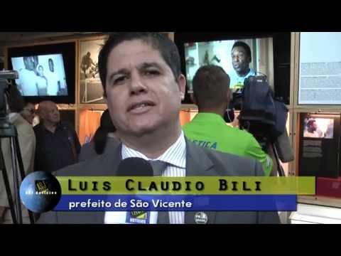 ASJ Notícias - Museu Pelé - Luis Claudio Bili