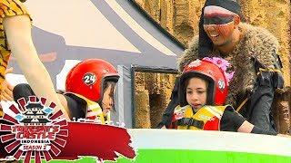 Kocak Banget! Mangkuk 2 Personil JKT48 Ini Malah Nyangkut di Tengah  - Takeshi's Castle  (7/11)