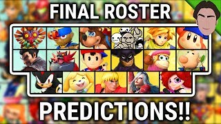 This Could Be the Final Roster for Super Smash Bros Ultimate