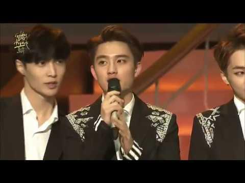 HD 第29届金唱片頒獎典禮EXO完整CUT 720P