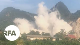 Massive Blast Kills One, Injures 20 in Northern Laos | Radio Free Asia (RFA)