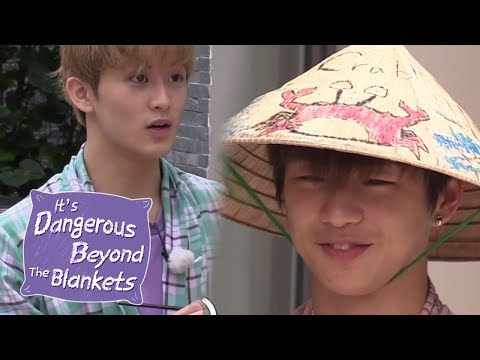 Kang Daniel's Crab & Mark's Pho! We Are Seafood Pho!! [It's Dangerous Beyond The Blanket Ep 9]