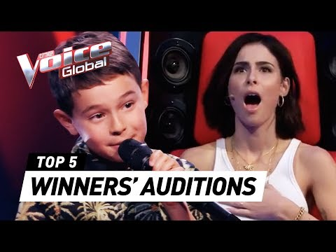 Talented young WINNERS in The Voice Kids