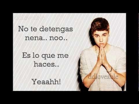 Justin Bieber - Die In Your Arms (SUB. ESPAÑOL)