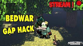 REDHOOD STREAM BEDWAR MINECRAFT KHOE TÓC MỚI GẶP HACK*Redhood Stream Minecraft bedwar