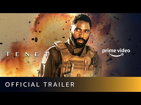 Official trailer of Tenet; directed by Christopher Nolan, available on Amazon Prime