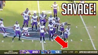 NFL 'SAVAGE' Moments of the 2020-2021 Season || HD