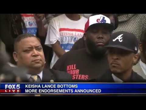 More endorsements for Keisha Lance Bottoms