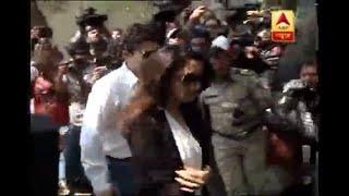 Madhuri Dixit reaches Anil Kapoor's house..