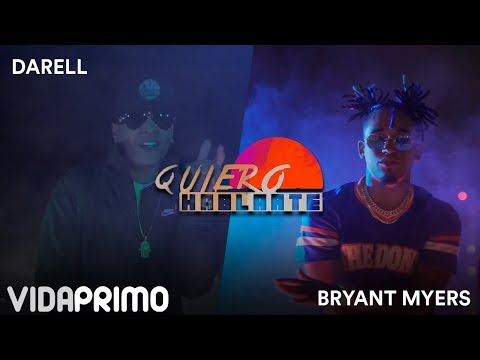 Darell ✖ Bryant Myers - Quiero Hablarte [Official Video]