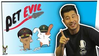 Build Missiles. Destroy Your Friends | Pet Evil Card Game