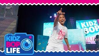 KIDZ BOP Life: Vlog # 30 - Isaiah's Road Trip & Backstage KIDZ BOP Live 2018 Tour