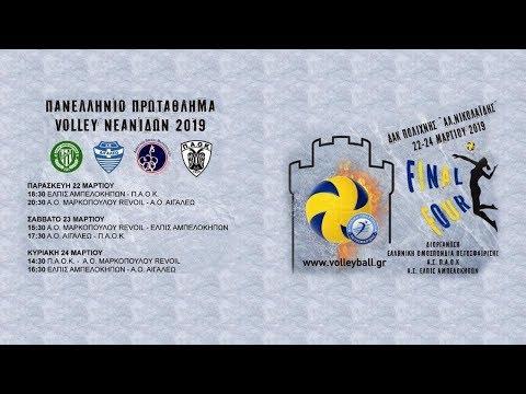 Ελπίς Αμπελοκήπων - Π.Α.Ο.Κ, Final 4 Volleyball Νεανίδων 2018-19