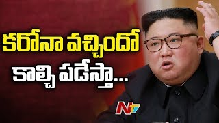 North Korea President Kim Jong Un warns officials on Coron..