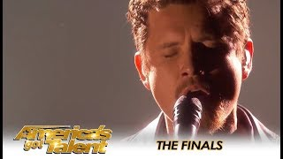 Michael Ketterer Brings Simon Cowell To TEARS During AGT Finals! | America's Got Talent 2018